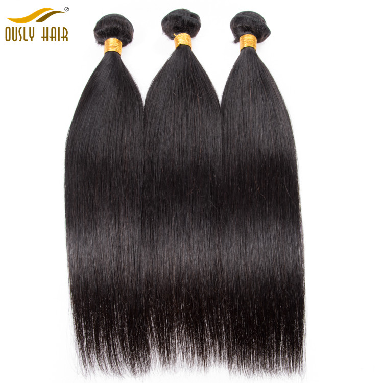 Ously Hair Brazilian Straight Hair Weave Bundle 1 Pc Can Buy 4 Or 3