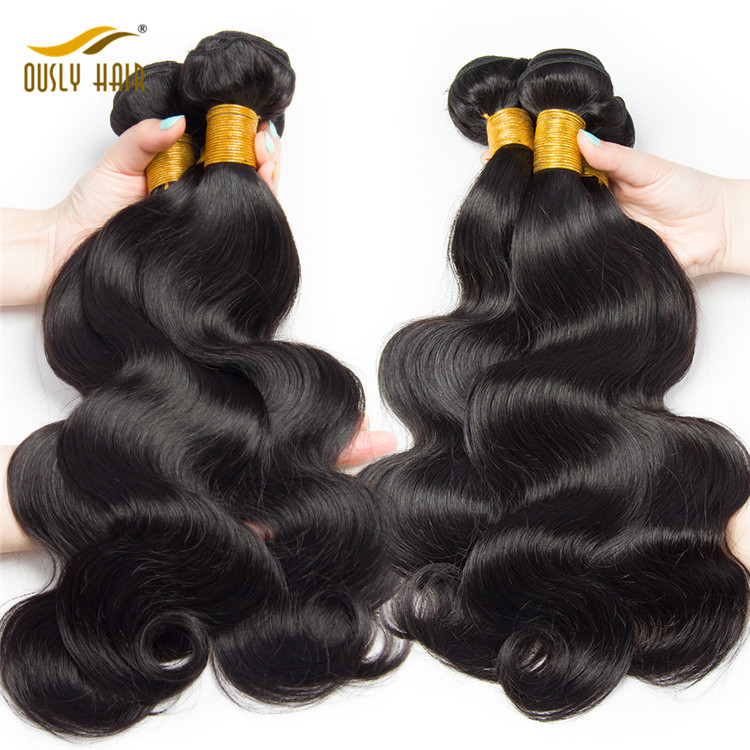 Body Wave Bundles Raw Human Hair Weave Bundle 1 Pc Virgo Non Remy Hair Extensions Natural Hair Can Be Dyed