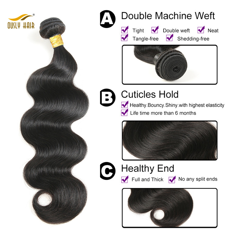 high quality bundle with closure