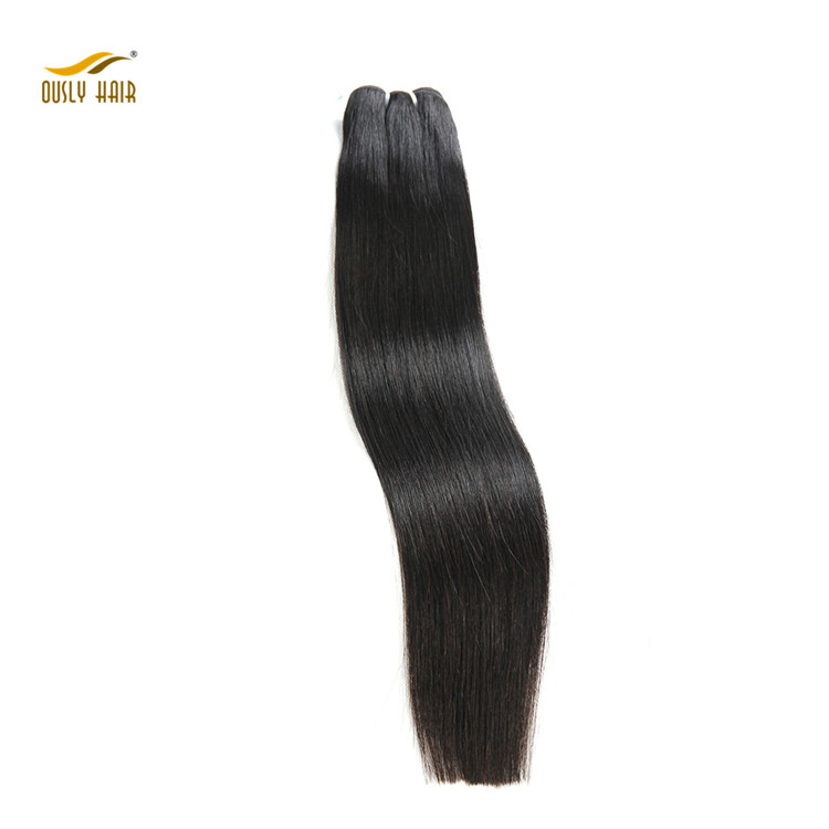 "Peruvian Straight Hair 100% Virgin Human Hair Double Weft 8""-26"" Nature Color 1 Piece Weaving"