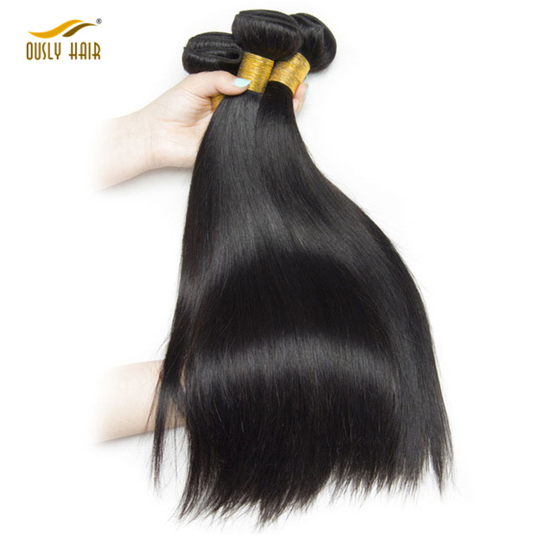1 Piece Only Malaysian Straight Hair 100% Human Hair Bundles 100g Non Remy Hair Weaving Extensions