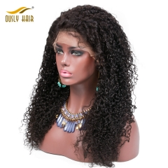 【FREE SHIPPING!!!】Ously Hair Kinky Curly Wig  Full Lace Wigs Natural Black Wigs For Black Women With Baby Hair