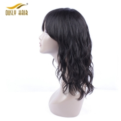 Brazilian Human Hair Wigs For Black Women Natural Wave Natural Color Remy Hair Wig Free Shipping