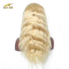 Body Wave 613 Blonde Lace Front Human Hair Wigs Remy Brazilian Human Hair Wig With Baby Hair