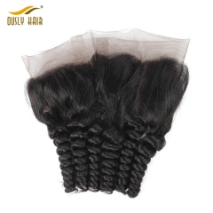 【2 PCS FREE SHIPPING】Brazilian 100% virgin Human Hair Charming Loose Wave 360 Lace Frontal With Baby Hair Bleached Knots Free Part Closure Ously Hair