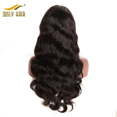 Peruvian Remy Human Hair Charming Body Wave 360 Lace Frontal Wigs Density 150% Pre Plucked Hairline Lace Frontal Wigs Ously Hair