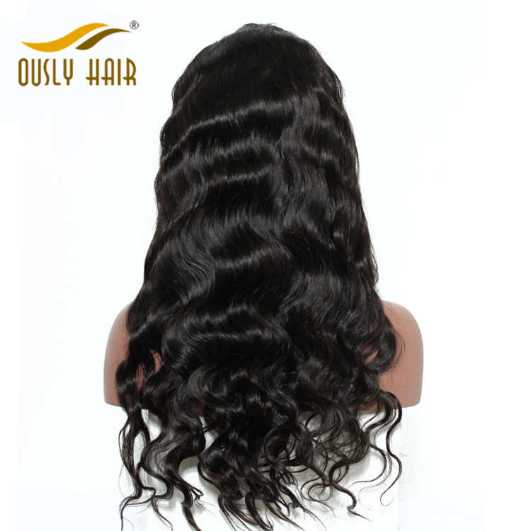 Ously Hair Malaysian Virgin Human Hair Wigs Body Wave Full Lace Wigs For Black Women Bleached Knots 10-24 Inch Wigs