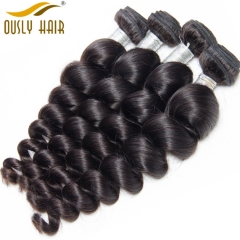 Malaysian Human Hair Weave Charming Loose Wave Hair Bundles 100 Remy Human Hair Extension Natural Color No Tangle Can Be Dyed Ously Hair